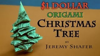 How to Make an Origami Tree out of Money   180x320