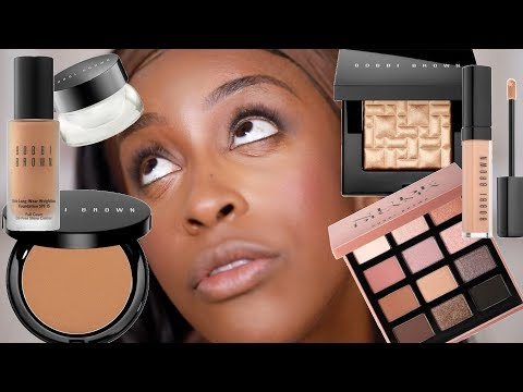 Full Face of Bobbi Brown Makeup - But The CREASING GIRL!! | Jackie Aina