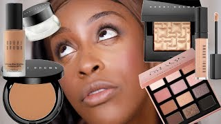 Full Face of Bobbi Brown Makeup - But The CREASING GIRL!! | Jackie Aina YouTube Videos