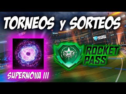 TORNEOS con SUBS y SORTEOS (ROCKET PASS) | DIRECTO ROCKET LEAGUE thumbnail