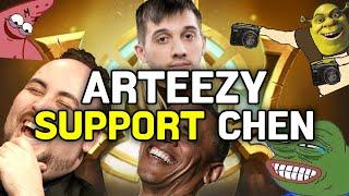 Dota 2: Arteezy - 6000 APM Chen Music | Respect Arteezy's Support Chen