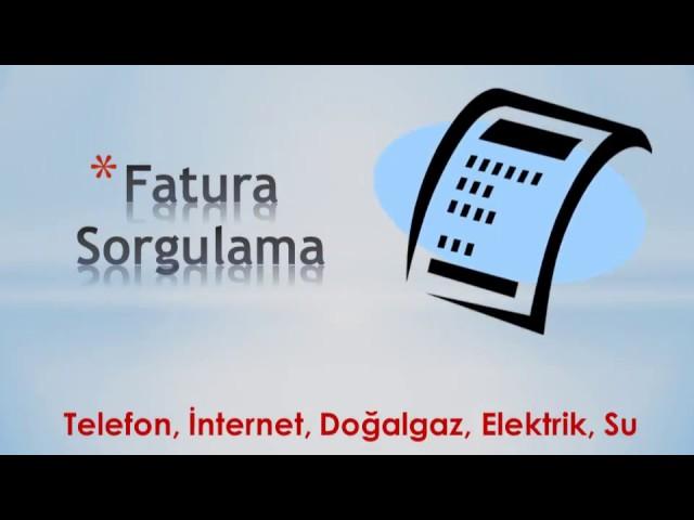 Türk Telekom Fatura Sorgulama Servisi