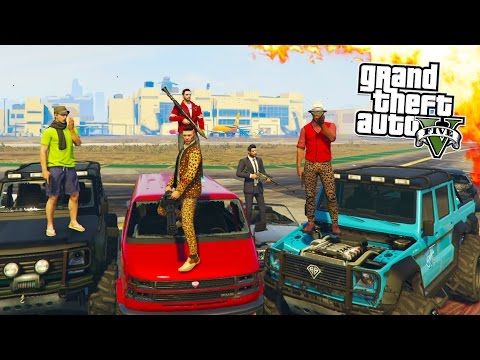 GTA 5 ONLINE - HIPSTER HUNT, FLYSWATTER & BUSTED! GTA 5 MINI GAMES ONLINE! (GTA 5 PS4 Gameplay)