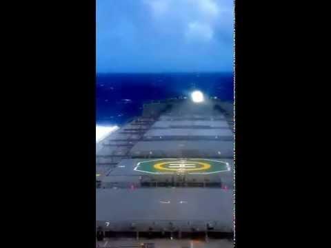 *Merchant Vessel / Ship sailing in Indian Ocean