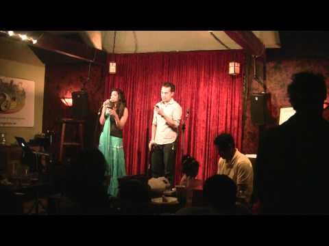 "Tarini & Arjun sing ""A Whole New World"" from Alladin @ Saratoga's Got Talent, May 5, 2012"