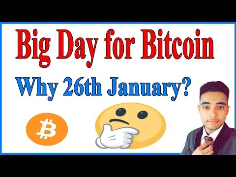 😱 Why 26th January is Big Day for Bitcoin/Crypto ? 🤔  if you don't know then you should watch !