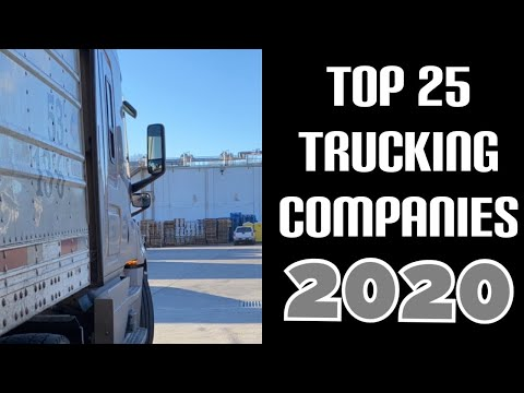 Top 25 Trucking Companies | 2020
