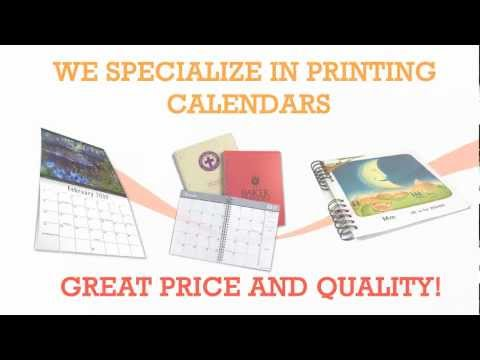 Calendar Printing in Los Angeles by Gold Image Printing