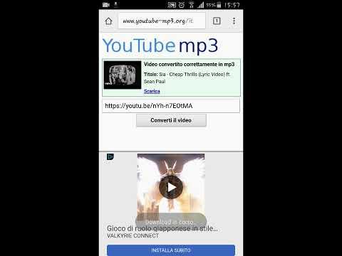 Scaricare musica MP3 da Youtube GRATIS su smartphone tramite Google!!!