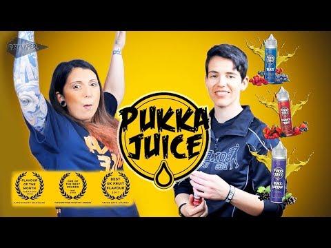 Cata de líquidos PUKKA JUICE / líquidos premiados Vape expo awars / vapouroand magazine y más