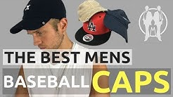Best Baseball Caps For Men | How To Wear A Baseball Cap Properly | Men's Baseball Hats Advice