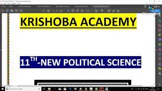 11TH POLITICAL SCIENCE-PANCHAYAT RAJ-EXPLANATION