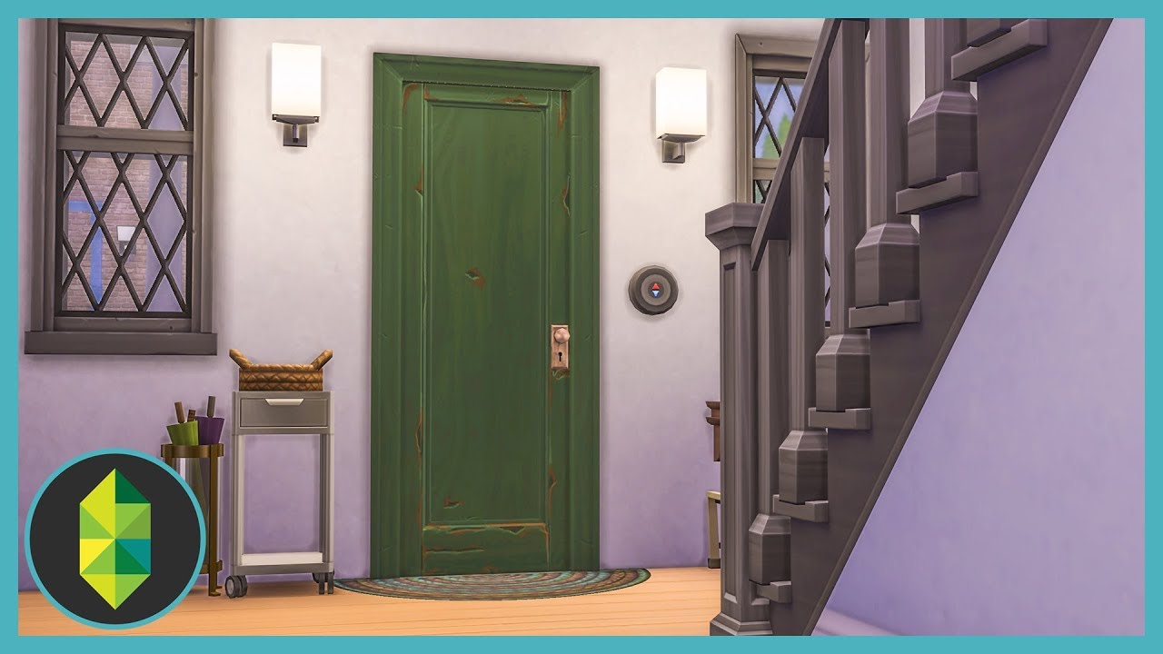 How To Decorate Foyers & Hallways (Sims 4 Build)