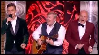 Артисты «Петросян Шоу» - финальная песня первого вечера «Он рождён в Советском Союзе» (2015)
