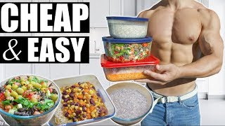 MEAL PREP FOR WEIGHT LOSS   EASY & CHEAP 💰