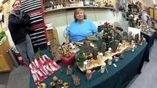 Woodcraft Woodworking Show December 2012  By  Darryl Easter