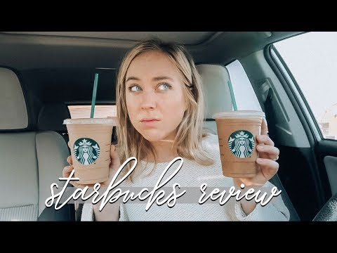 I TRIED THE NEW STARBUCKS DRINKS SO YOU DON&39;T HAVE TO