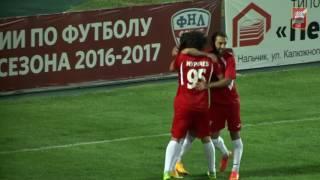 СПАРТАК- НАЛЬЧИК-НЕФТЕХИМИК 3-2 03.09.16 голы