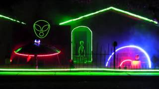 "2013 Halloween Light Show ""Mr. Roboto"""