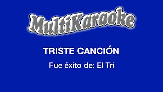 Multi Karaoke - Triste Cancion