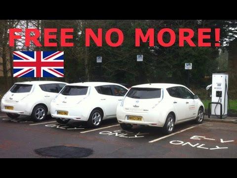 End Of Free UK EV Charging?