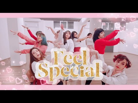 Feel Special [ 💕 Valentine's Day Version 💕 ] |Pink Milk| DANCE COVER OT9