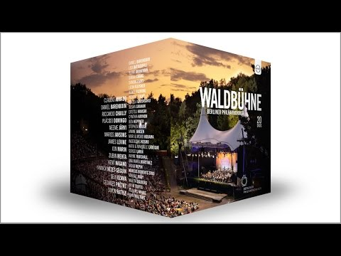 The Berliner Philharmoniker at the Waldbühne: 20 DVDs at a special price