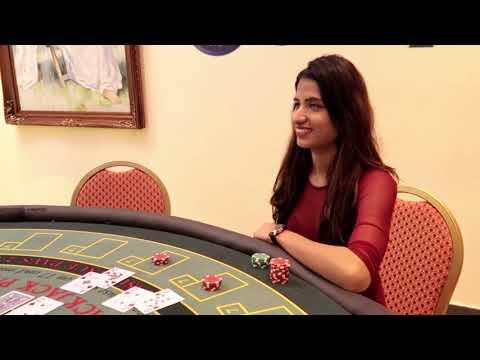 Indian Girls Explaining Rules Of Black Jack In Hindi!