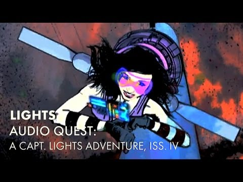 Audio Quest: A Capt. LIGHTS Adventure, Issue IV