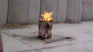Acetylene Explosion