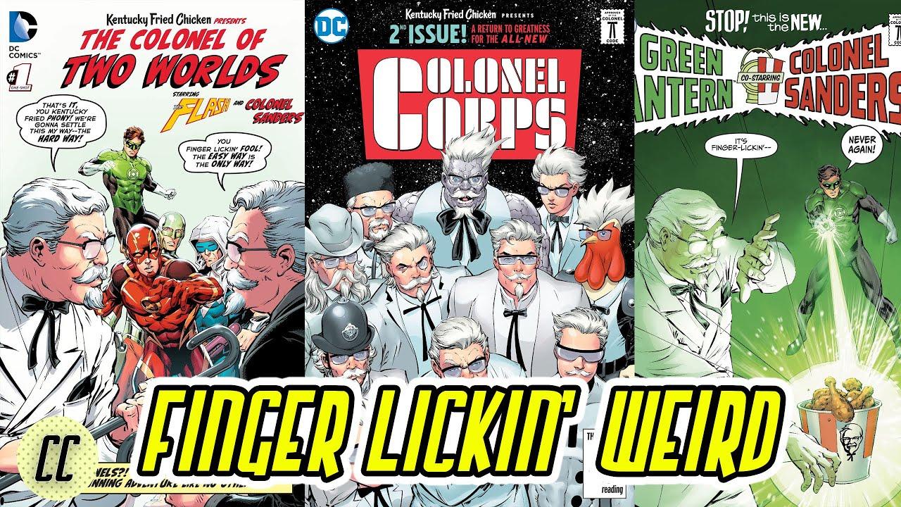 The DC KFC Trilogy Is Both Cringe And Amazing!