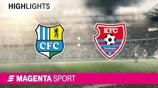 Chemnitzer FC - KFC Uerdingen   Spieltag 17, 19/20   MAGENTA SPORT