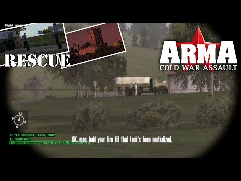 "ARMA: Cold War Assault (Operation Flashpoint: Cold War Crisis) Mission 8 ""Rescue"""