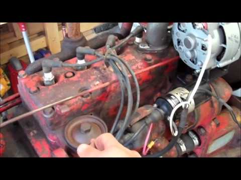1949 Farmall Cub 1st start on