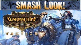Smash Look! - Warmachine Tactics Gameplay