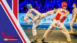 Manchester 2018 World Taekwondo GP [Male -68Kg FINAL] Dae-hoon LEE(KOR) vs Mirhashem HOSSEINI(IRI)