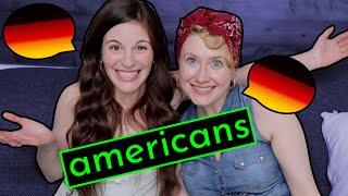 2 Americans Speak ONLY GERMAN Together???