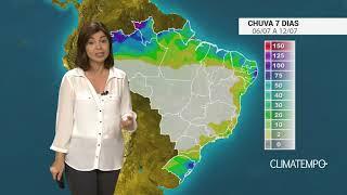 Previsão de chuva BR próximos dias