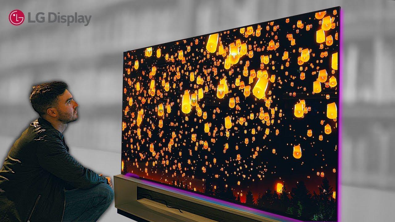 Insane Transparent Oled Tv Lg 65c9 Unboxing Review