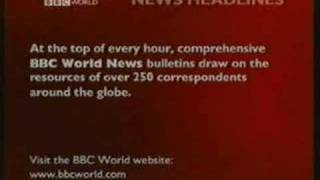 BBC WORLD 2001 To 2003 - OVER 7 MINUTES!