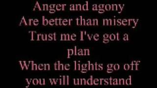Three Days Grace - Pain (Acoustic w/ Lyrics)