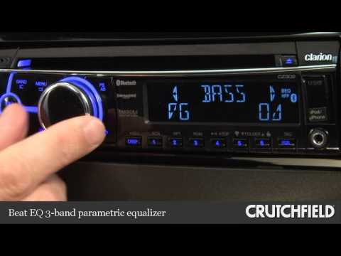 Clarion CZ302 CD Receiver Display And Controls Demo | Crutchfield Video