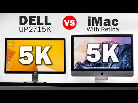 5k Dell Monitor Vs 5k iMac - The Highest Resolution Displays