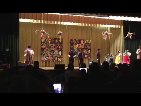 Joses traditional Mexican dance Schubert elementary school 2016 Aces