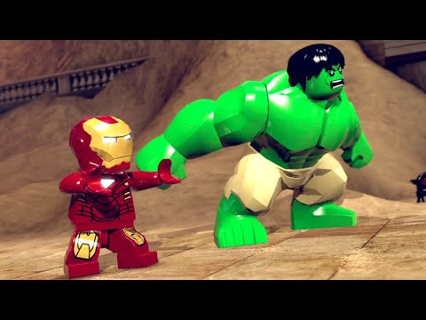 LEGO Marvel Super Heroes Walkthrough 1 - Sand Central Station Demo ~ Stan Lee in Peril