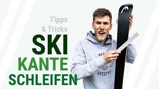 // SKI KANTE SCHLEIFEN Tutorial -  Wie schleifst du die Kante deiner Ski? Tipps und Tricks // 1/2