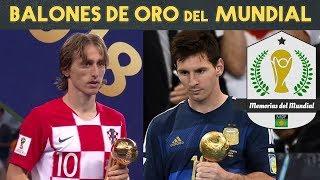 10 jugadores que ganaron el BALÓN DE ORO del Mundial (1982-2018)