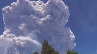 Volcano Shoots Ash and Smoke Three Miles Into the Sky