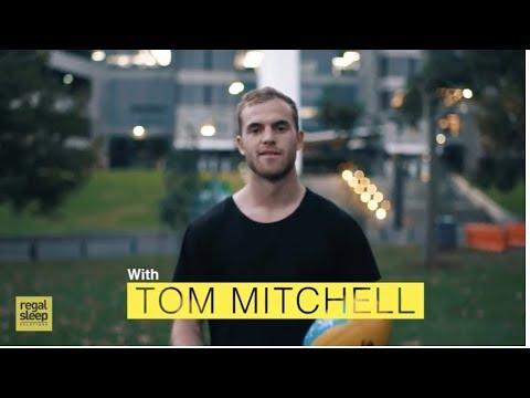 Tom Mitchell Hawthorn Football Club for Regal Sleep Solutions
