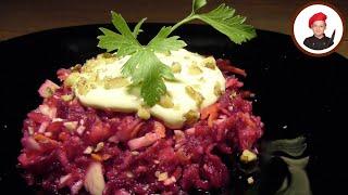 Салат витаминный из капусты и свеклы. Георгий Апухтин